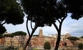 Trajan's Market (Mercati Traianei) in Rome, Italy Stock Photos