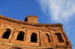 Trajan`s Market in Rome Royalty Free Stock Photo