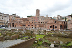 Trajan's Market, Rome. Royalty Free Stock Photos