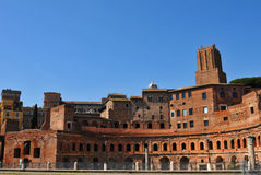 Trajan's Market in Rome, Italy Stock Photo