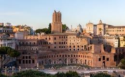 Trajan's Market in Rome, Italy Stock Photography