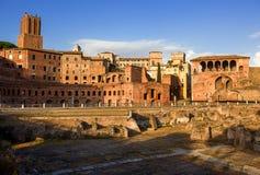Trajan's Market in Rome. Italy. Stock Photo
