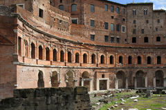 Trajan's Markets Royalty Free Stock Photo