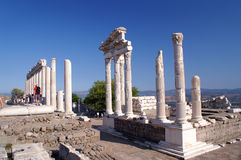 trajan tempel royaltyfri fotografi