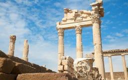 Free Trajan Temple In Pergamon Turkey Stock Image - 13183341