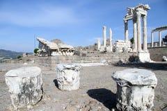 Trajan temple Royalty Free Stock Image