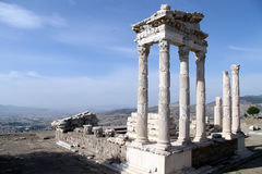 Trajan temple stock images