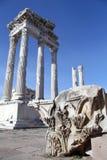 Trajan temple Stock Photos