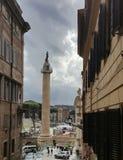 Trajan' colonna di s a Roma Fotografie Stock Libere da Diritti