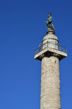 Trajan's Column in Rome Stock Images