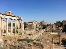 Trajan's Forum, Rome, Italy Royalty Free Stock Images