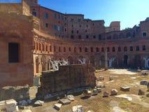 Trajan& x27;s Forum, Rome, Italy Royalty Free Stock Photos