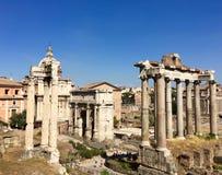 Trajan& x27;s Forum, Rome, Italy Stock Images