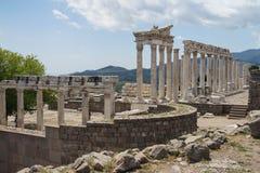 Trajaneum of the acropolis Royalty Free Stock Photos