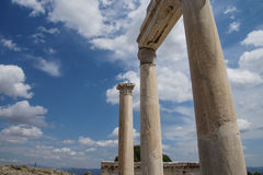 Trajaneum of the acropolis Royalty Free Stock Images