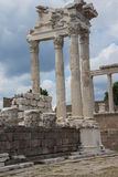 Trajaneum of the acropolis Stock Images