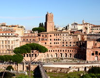 Trajans市场,罗马 免版税图库摄影