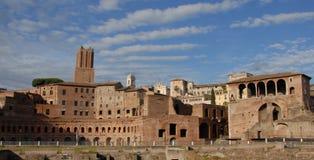 Trajans Forum Stockfotos