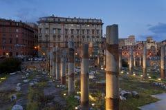 Trajans forum i Rome Royaltyfria Bilder