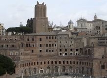 Trajans Forum Stock Images