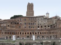Trajans Forum Stock Photos