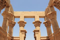 Trajans Kiosk von Philae Der Philae-Tempel, auf Agilkia-Insel Stockfoto