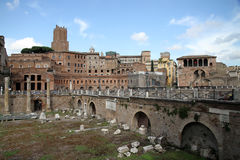 Trajan Market, Rome Stock Photo