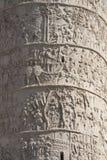 Trajans Spalte-Detail Lizenzfreies Stockbild
