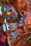 Traje étnico dos Fotos de archivo