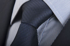 Traje, camisa y lazo Imágenes de archivo libres de regalías