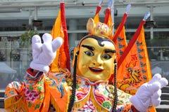 Traje chino del desfile Foto de archivo