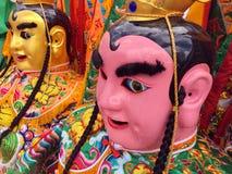 Traje chino del desfile Fotos de archivo