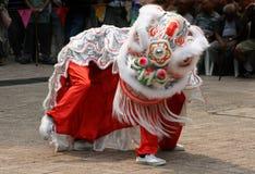 Traje chino del dragón Foto de archivo libre de regalías