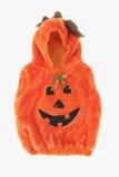 Traje da abóbora de Halloween imagens de stock royalty free