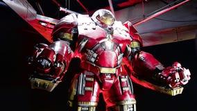 Traje de Buster Iron Man del armatoste Foto de archivo libre de regalías