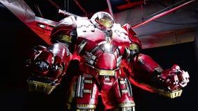 Traje de Buster Iron Man del armatoste Fotos de archivo libres de regalías