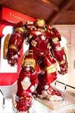 Traje de Buster Iron Man del armatoste en el museo de señora Tussauds Imagenes de archivo