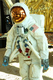 Traje de espacio del astronauta de Apolo 11 Foto de archivo libre de regalías