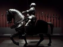 Traje de la armadura montado en Art Institute de Chicago Foto de archivo libre de regalías