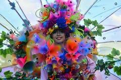 Traje de la flor Imagen de archivo libre de regalías