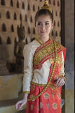 Traje de Laos Imagem de Stock Royalty Free