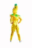 Traje de mascarada del limón Imagenes de archivo