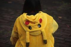 Traje de Pikachu Fotos de archivo