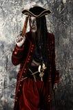 Traje de un pirata imagen de archivo libre de regalías
