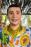 Traje del carnaval de Olindas Imagenes de archivo