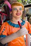Traje del carnaval de Olindas Imagen de archivo