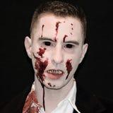 Traje del vampiro fotografía de archivo libre de regalías