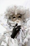 Traje do carnaval de Veneza Imagens de Stock