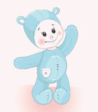 Traje do urso da criança Imagem de Stock Royalty Free