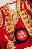 Traje nacional de Montenegro Imágenes de archivo libres de regalías